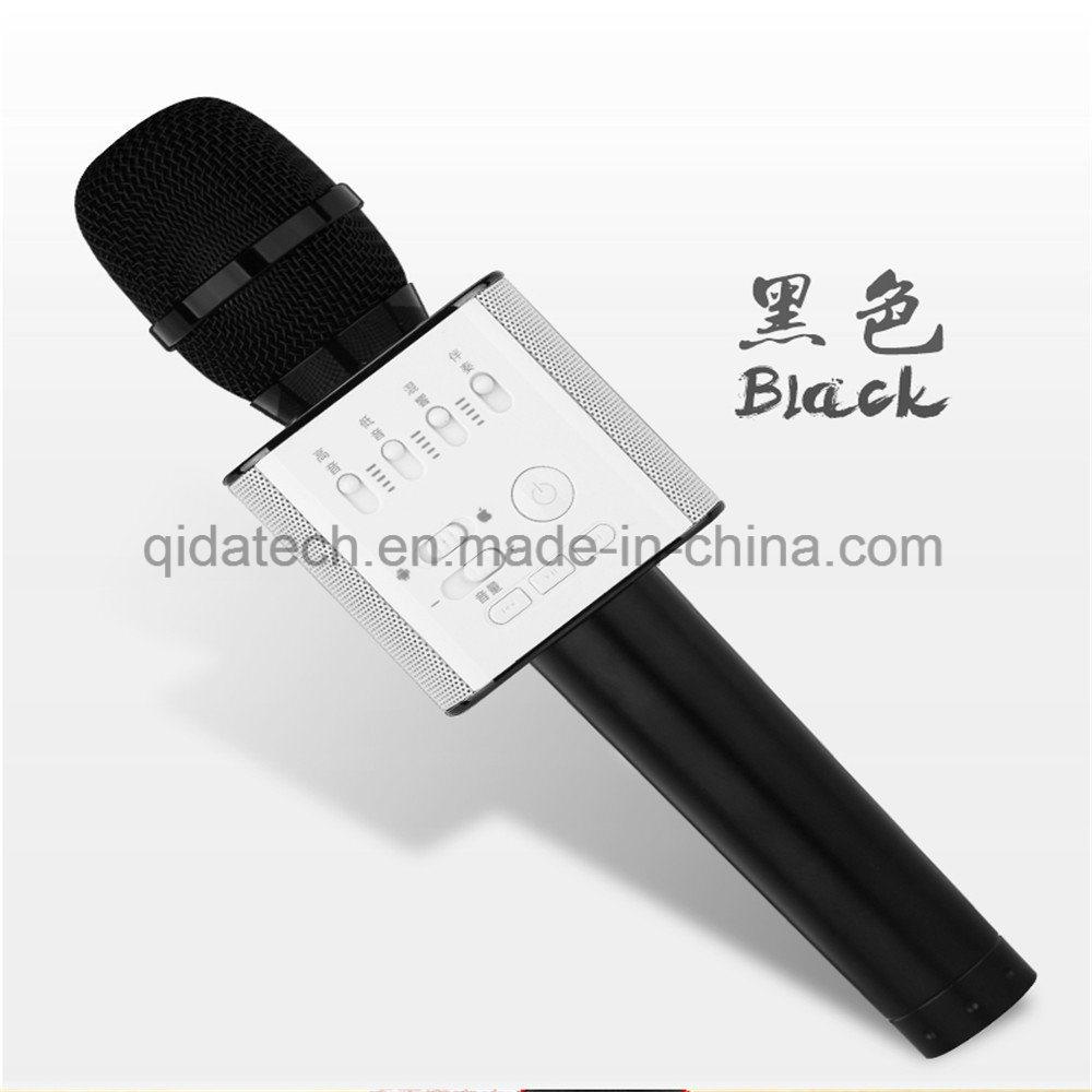 New Portable Bluetooth Wireless Ws858 Microphone Speaker KTV Karaoke