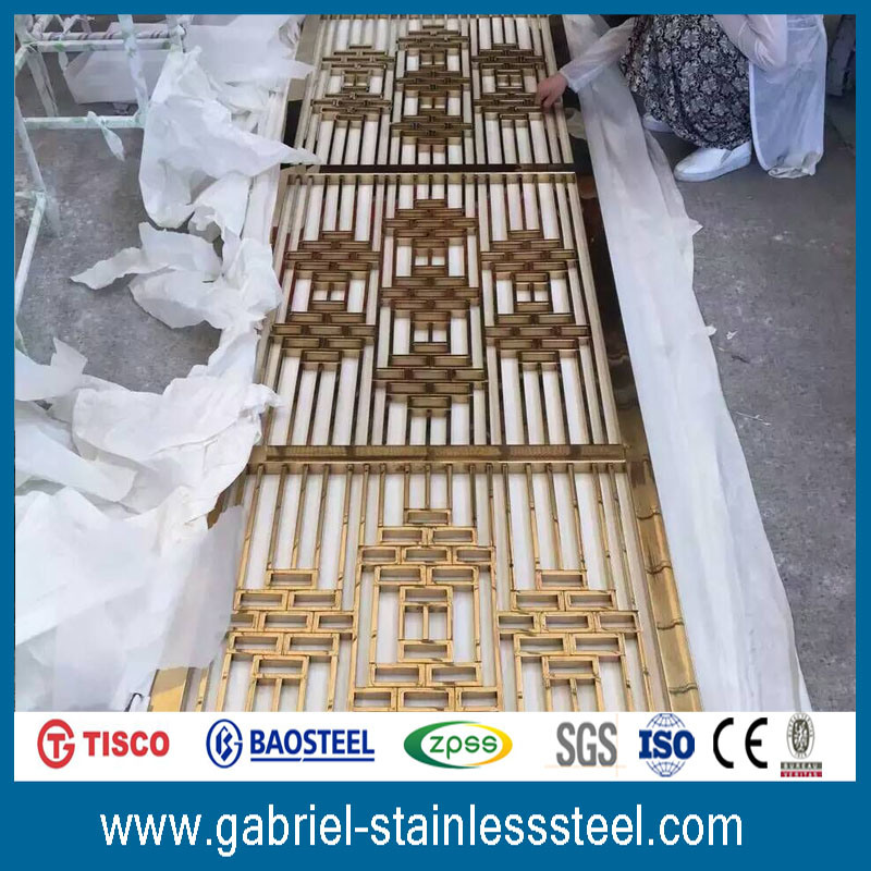 Fashionable Decorative 201 Stainless Steel Matal Screen
