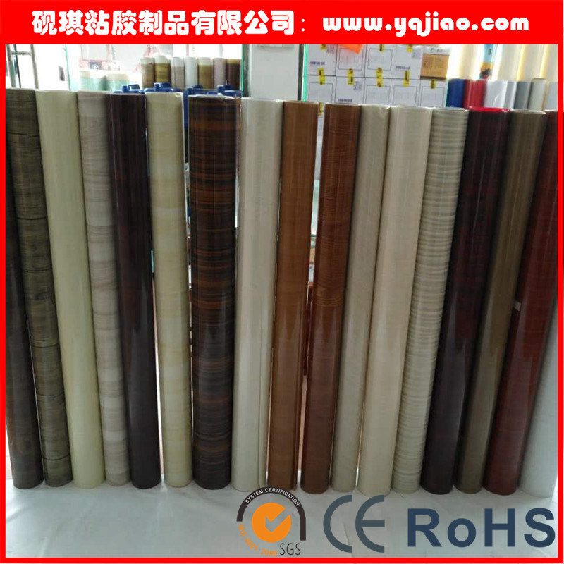 High Gloss Vanilla Furniture PVC Decorative Film