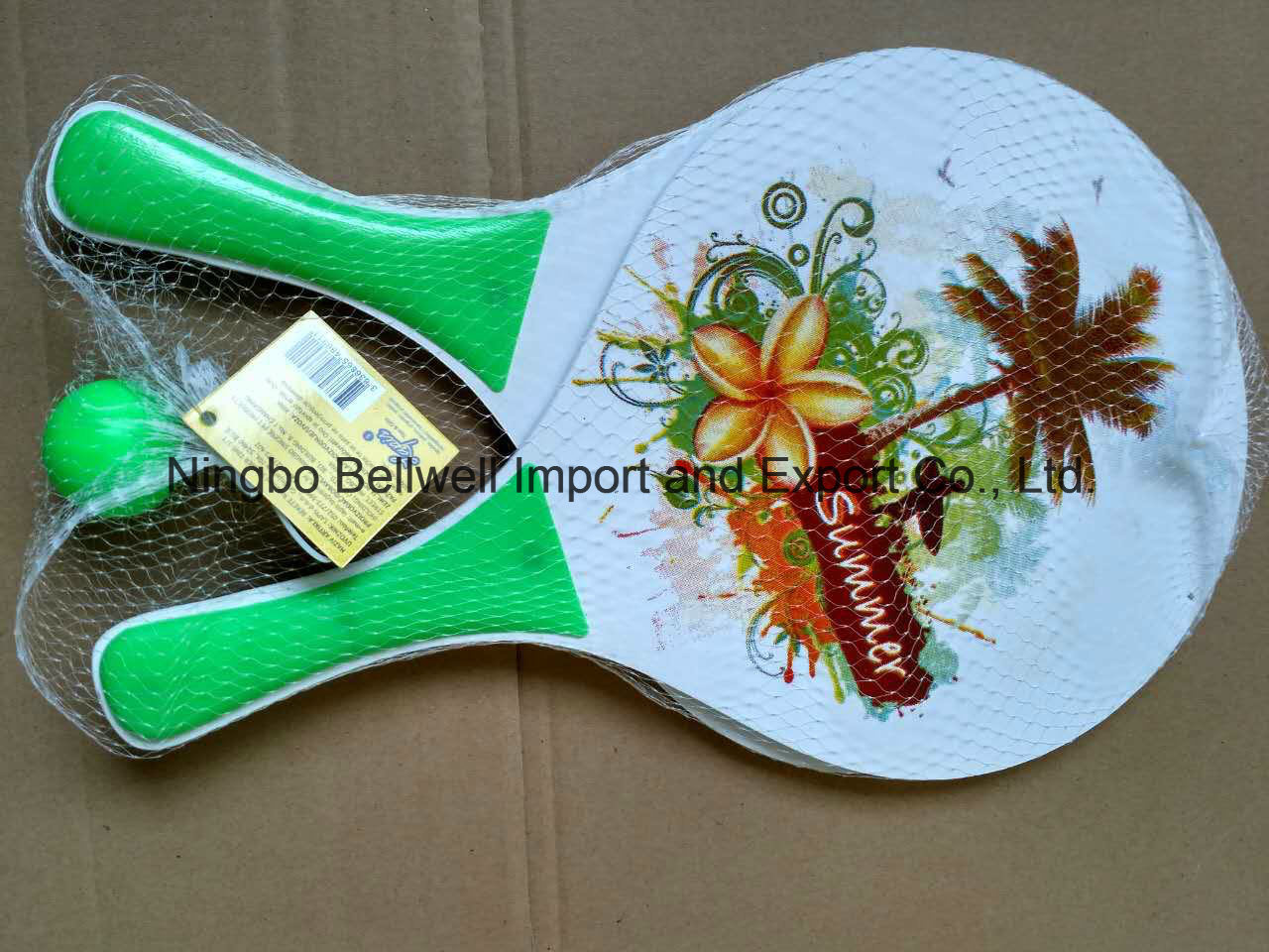 Beach Racket with Bali in Diffrrent Color