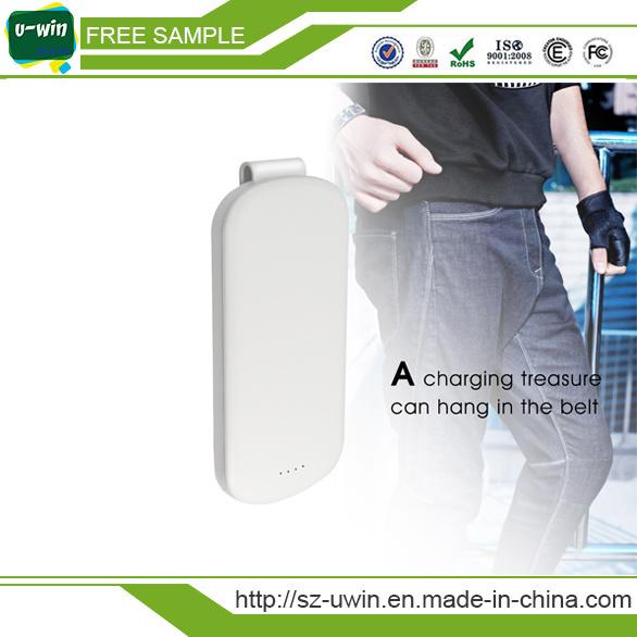 4000mAh/5000mAh/10000mAh Portable Power Bank Charger with Belt Clip