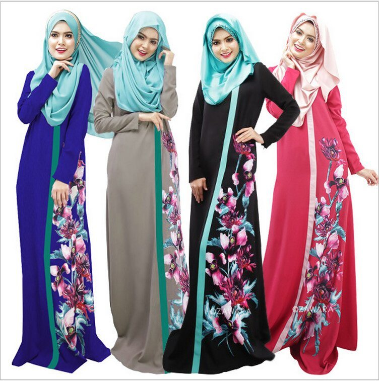 2017 Loyal Muslim Robe Women Abaya Dress