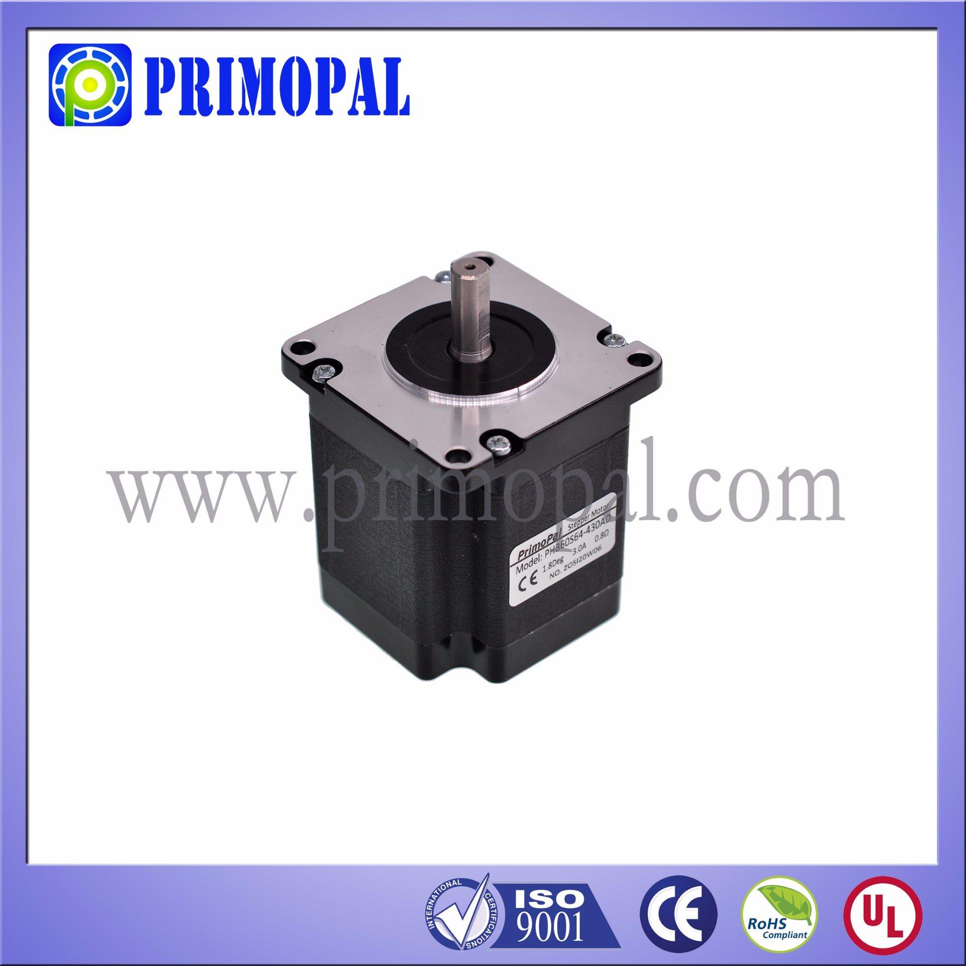 1.8 Step Angle NEMA 24 Square Stepper Motor for Industrial Printer