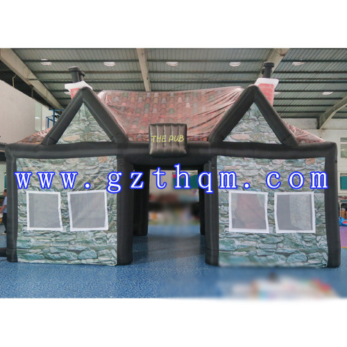 Air Tight Portable Inflatable Pub Bar Tent/Best Quality Fashionable Inflatable Buildings