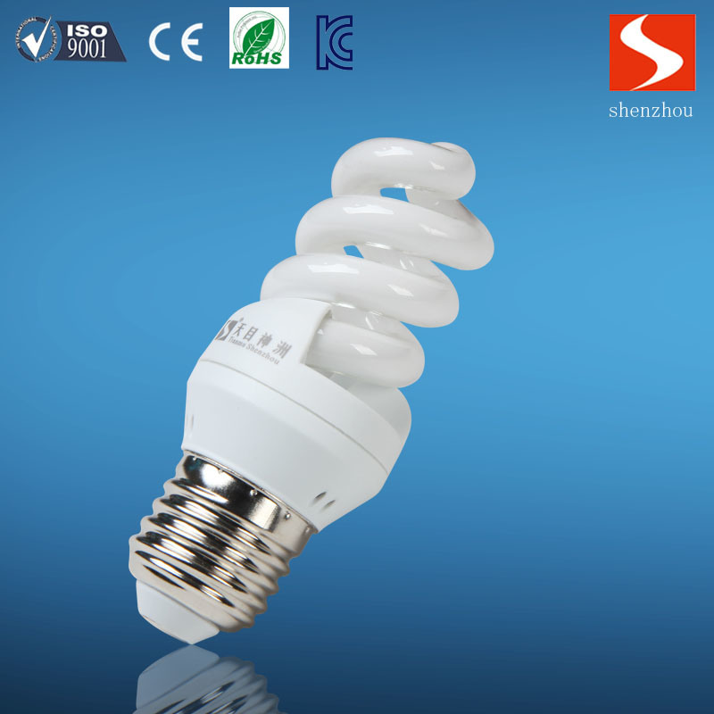 China Supplier 13W Spiral Compact Fluorescent Lamp