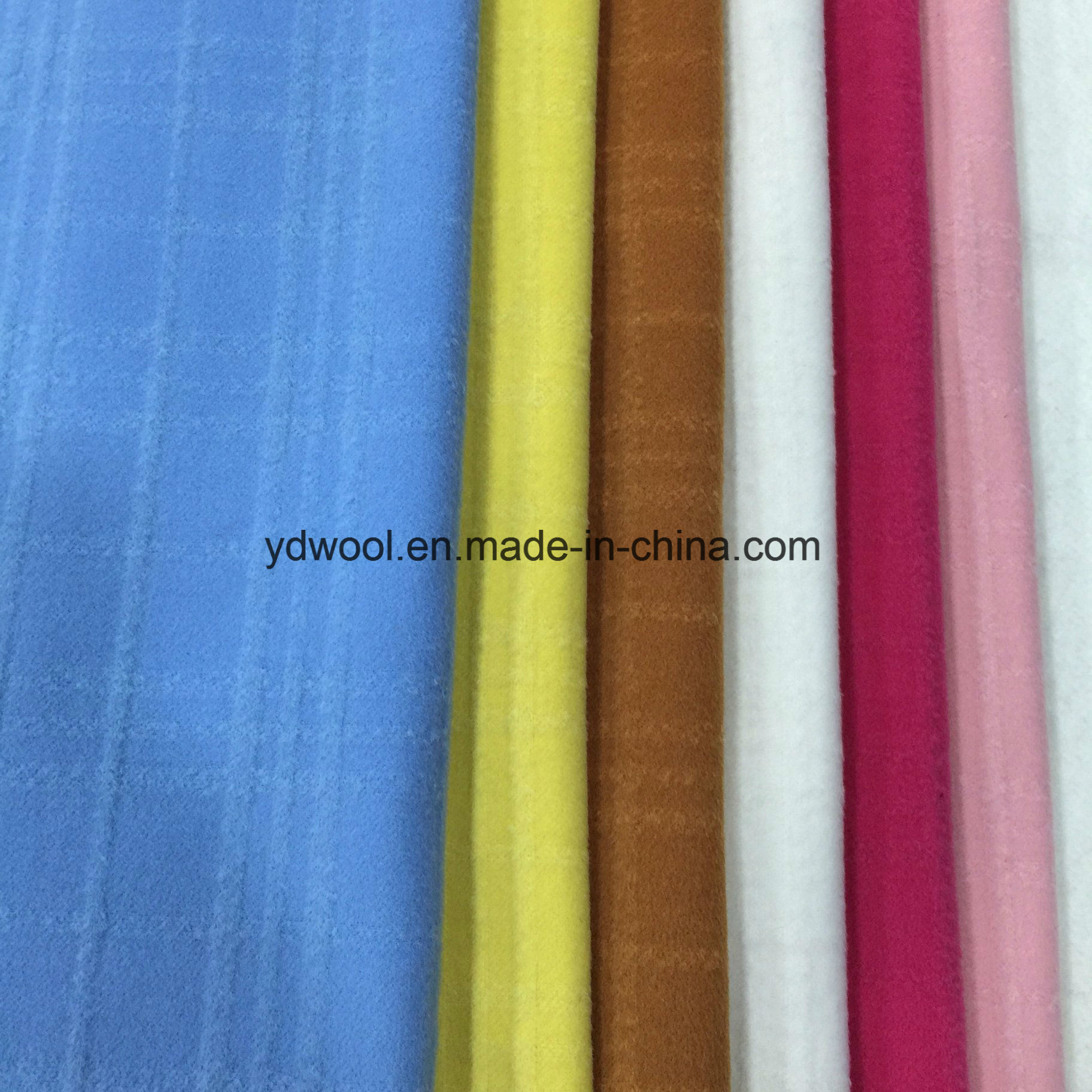 Jacquard Check Wool Fabric Ready Greige Fabric