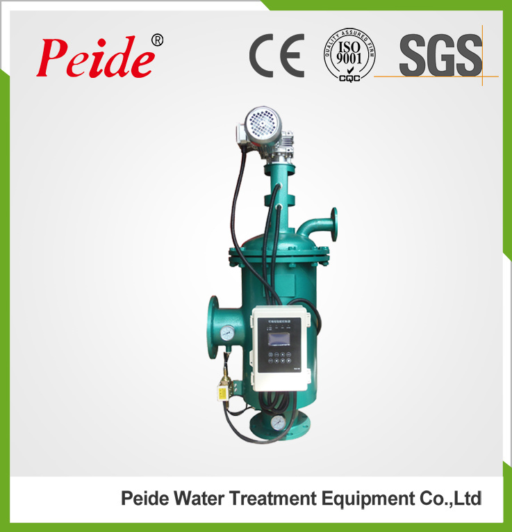 Automatic Self-Cleaning Brush Type Water Filter for Water Treatment