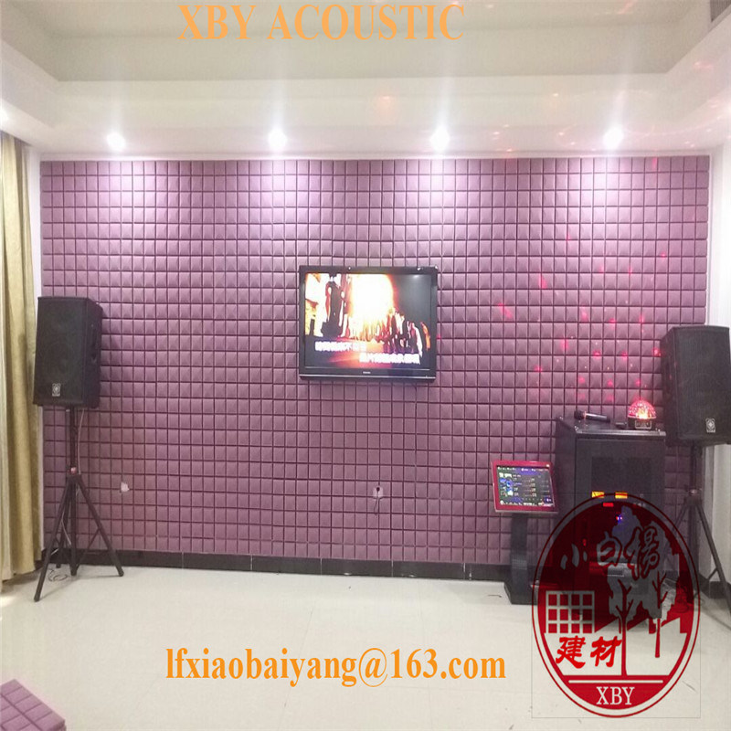 Environmental Friendly Sound Absorption Acoustic Foam Acoustic Panel Wall Panel Ceiling Panel Decoration Panel