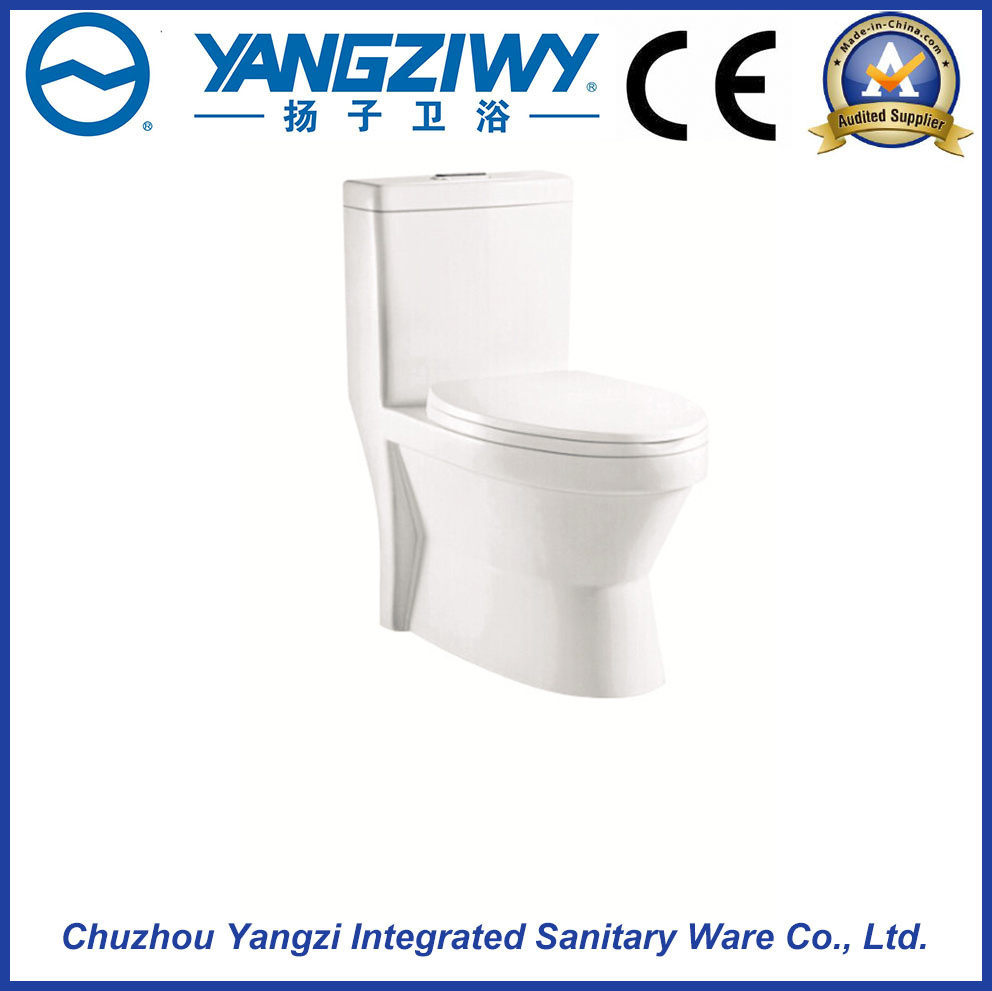 Siphonic Excess Eddy Household One Piece Toilet (YZ1647)