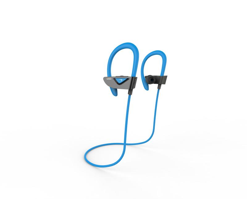 Gymsense Bluetooth Earbuds Sport Wireless Sweatproof Earhook Headphones with Microphone