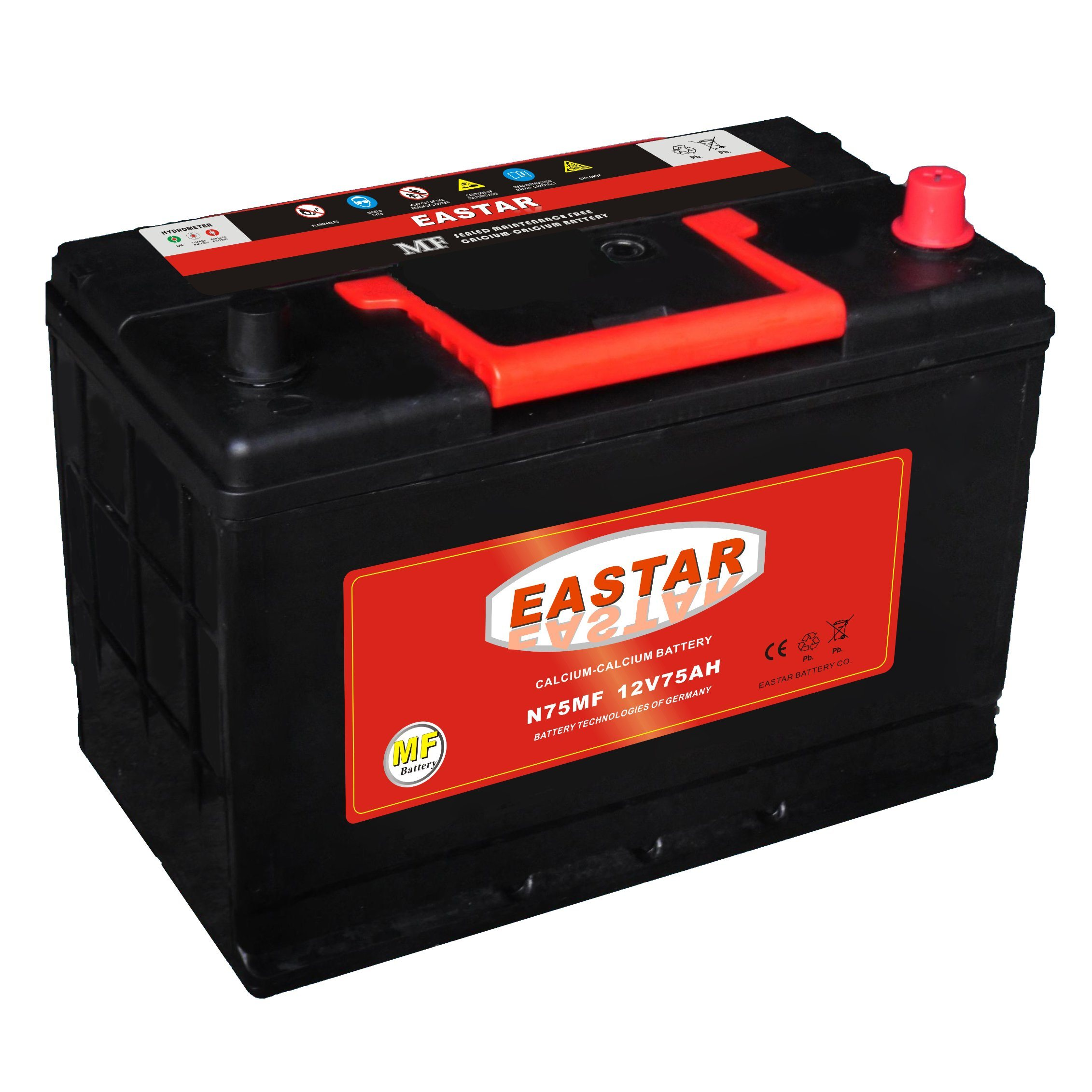 Mf Lead Acid Battery 12V Car Battery Manufacturer Korea