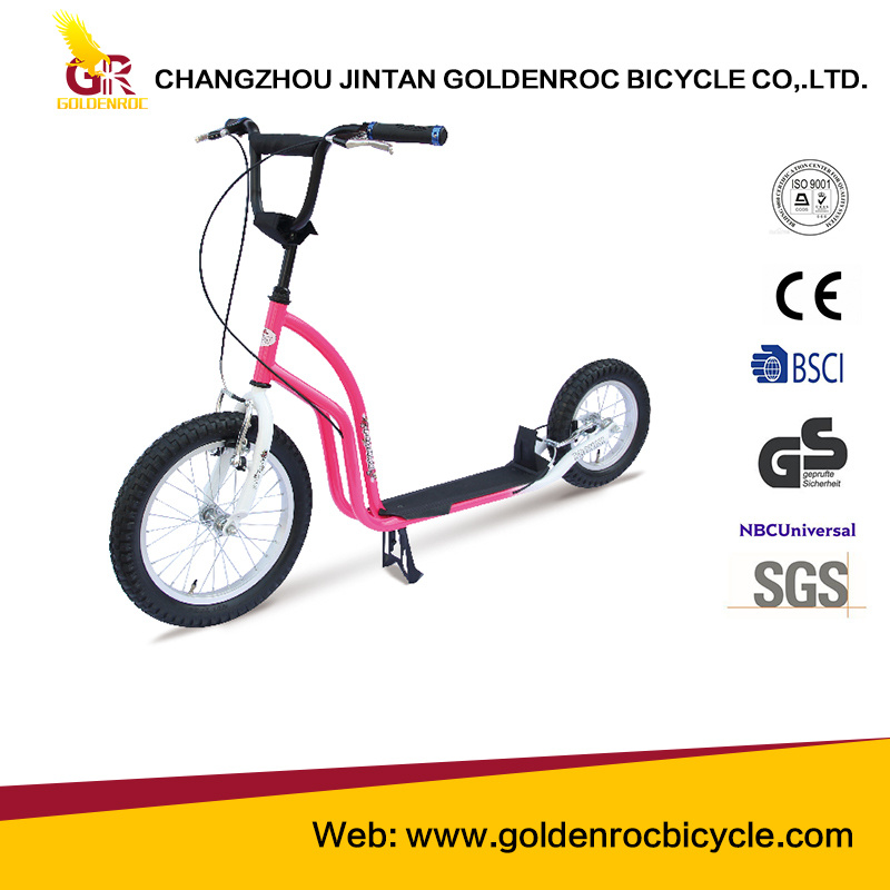 "(GL1612-JK) High Quality 16""-12"" Children Scooter with Ce"