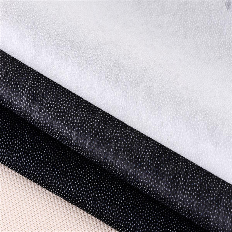 Wholesale 100% Polyester Nonwoven Fusible Dotted Interlining for Garments