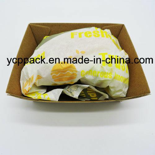 Disposable Food Packaging Hamburger Tray