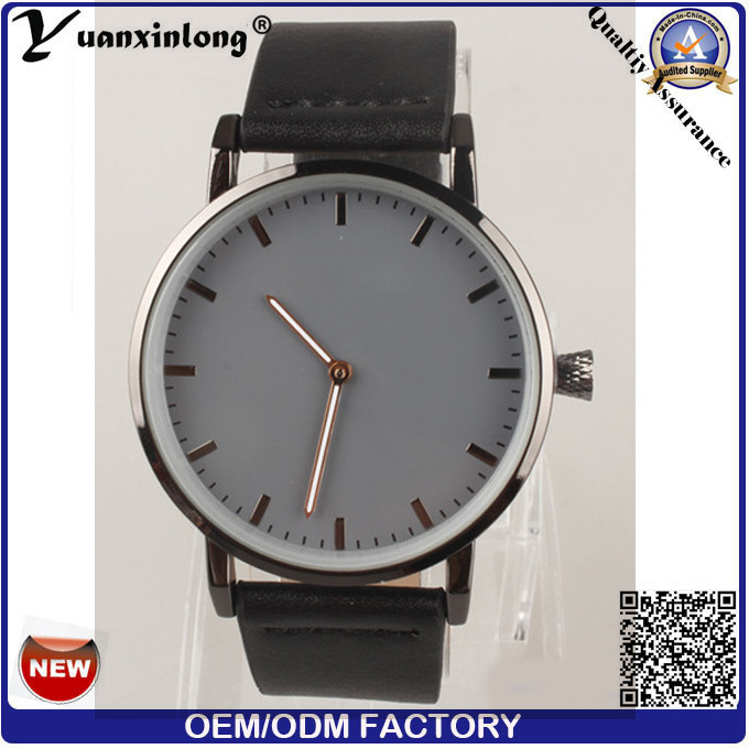 Yxl-092 Marble Stone Watch Face Stainless Steel Watch Case Genuine Leather Fashion Watch Vogue Elegant Ladies Watch Wholesale