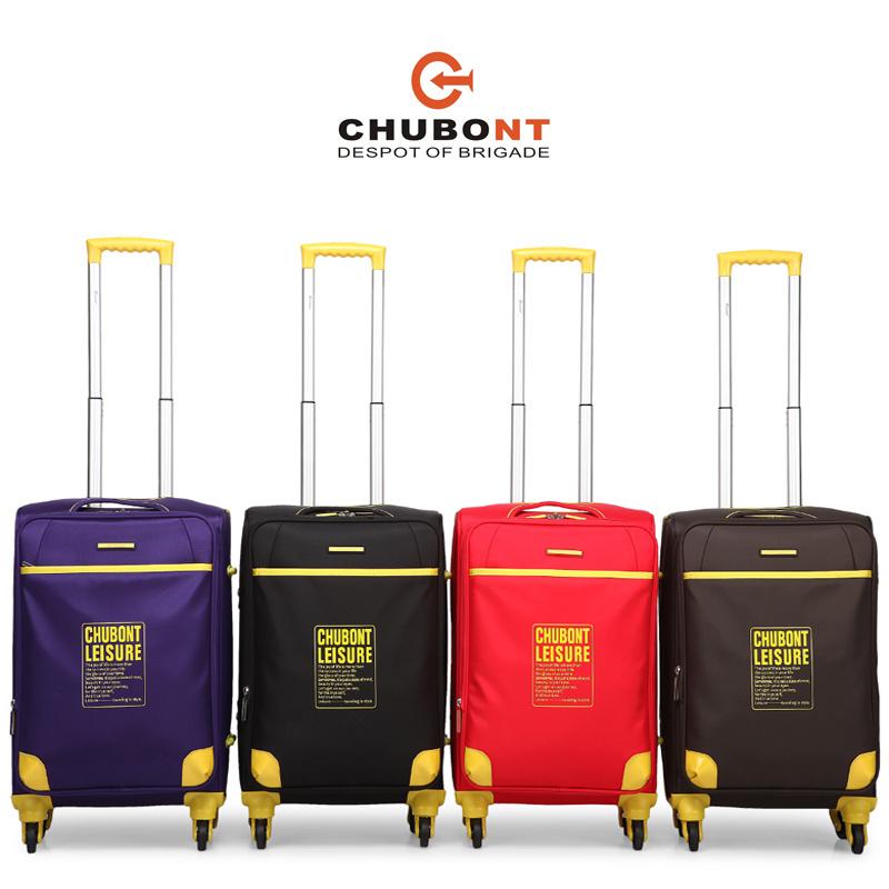 Chubont High Qualitty Four Wheels Fashion Travel Luggage Set with Paded Lock
