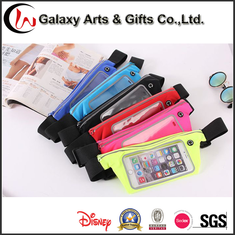 Promotional Durable Sport Elastic Expandable Waist Bag Running Belt