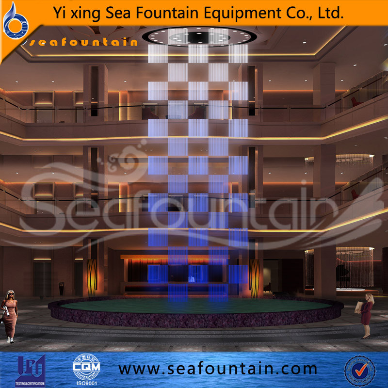 Seafountain Design Digital Water Curtain Fountain