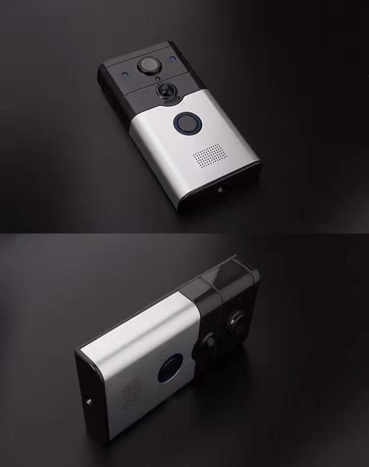 Smart Home Wireless Doorbell Smart Video WiFi Door Bell IP Intercom Camera Smartphone Video Unlock Alarm