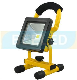 Flash Red Blue Fishing Lighs 10W Rechargeable LED Floodlight