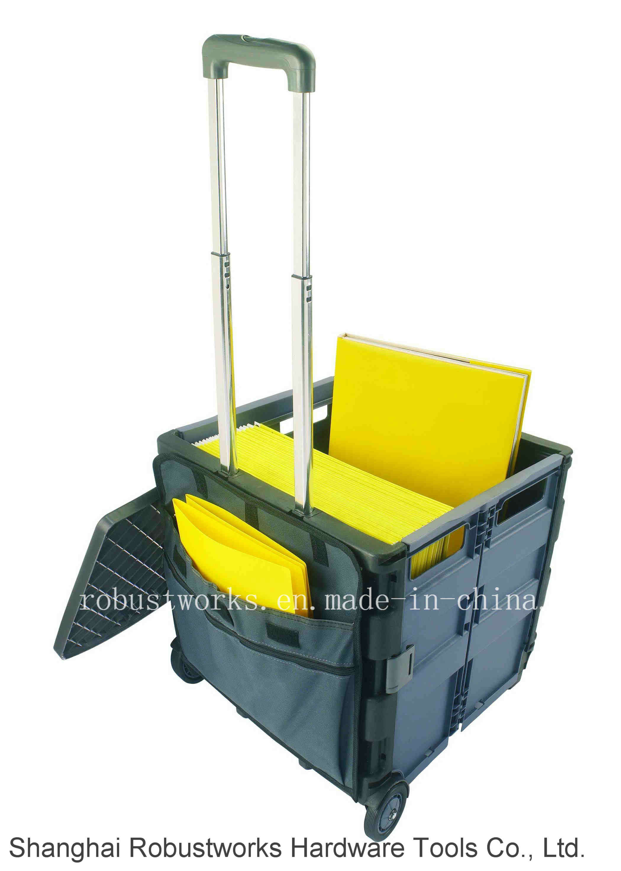 Portable Folding File Cart (FC405K)