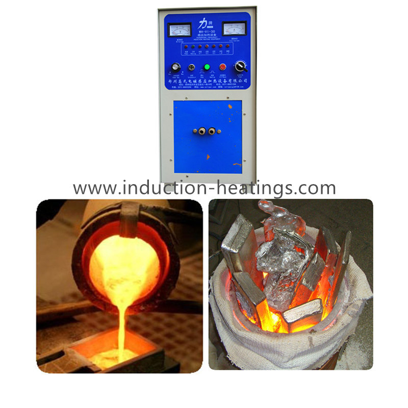 Save 30% Energy Precious Metal Induction Heating Melting Furnace