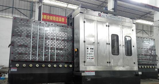 2500 Vertical Glass Washing Machine