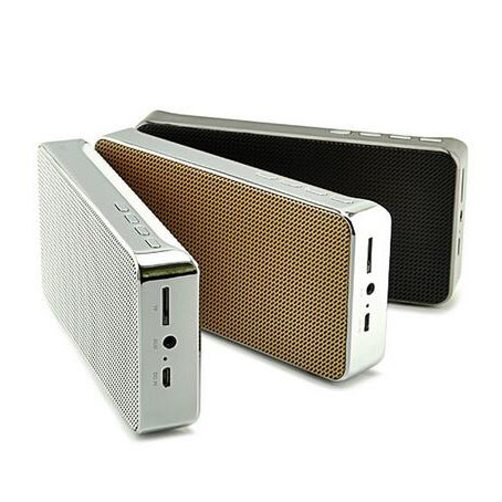 Zinc Alloy Stereo Active Wireless Bluetooth Professional Speaker