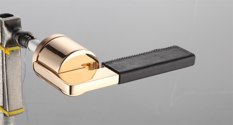 Hot Zinc Alloy Door Lock Handle (DZ-09112 22K-B)