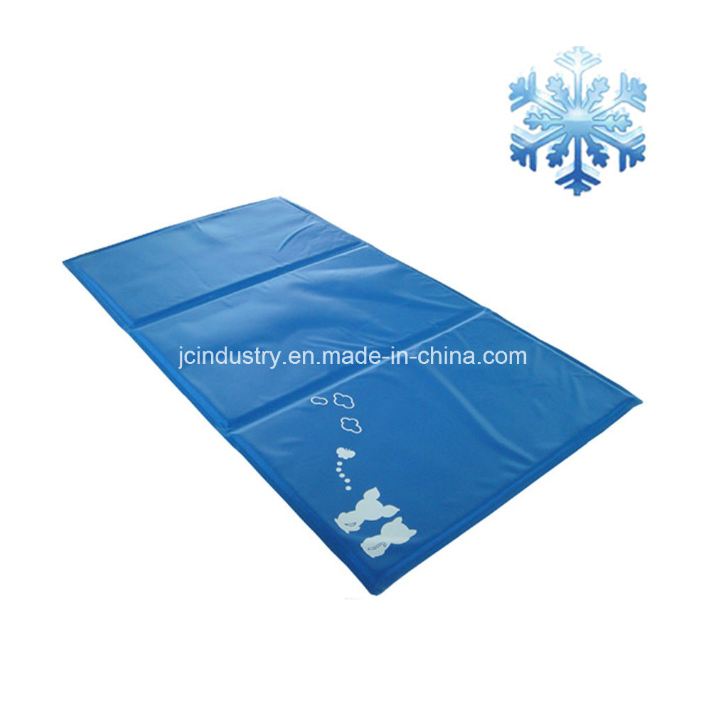 Waterproof Logo Printing Gel Cooling Mat