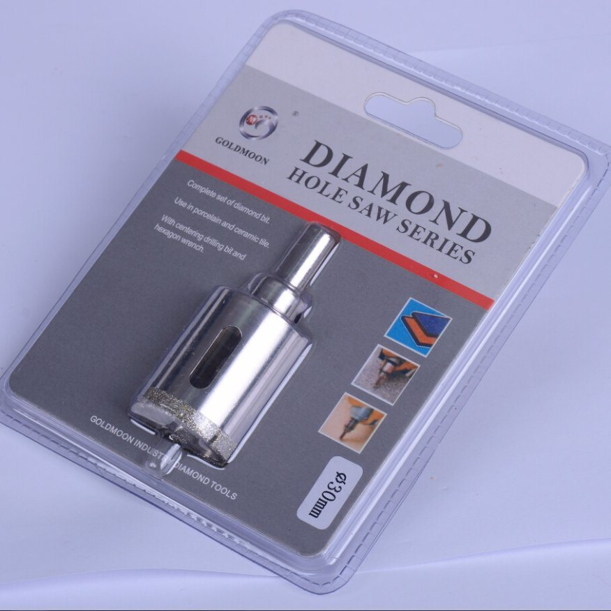 8mm Electroplate Ceramic Drilling Diamond Hole Saw Series
