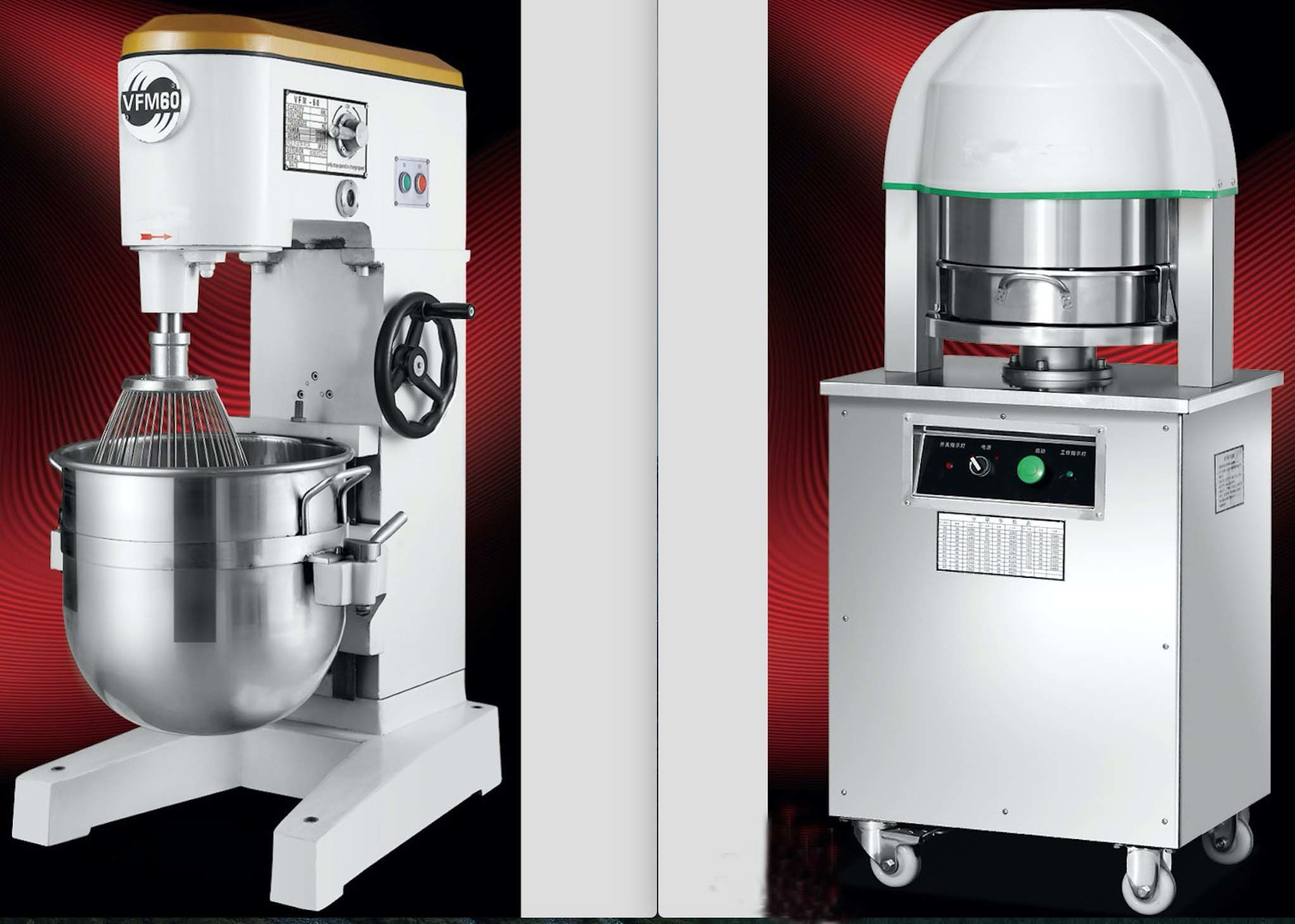 Industrial Bread Baking Machine for Bakeshop in Food Equipment