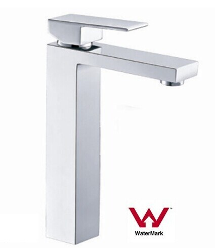 Australia Standard Sanitary Ware New Square Bathroom Brass Chrome Plated Basin Tap/Faucet/Mixer (HD4203H)