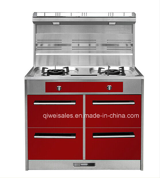 Integrated Cooker with Double Gas Stove (JCJZ-100A)