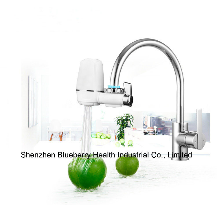 Tap Faucet Filter with Ceramic Combined Carbon Replacment to Offer Completely Clear Water