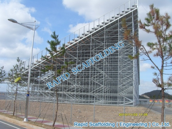 Hot DIP Galvanized Scaffold Steel Bleacher