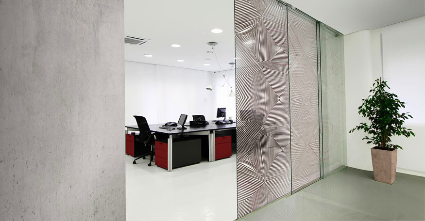 Fashion Style-----Tempered Decorative Glass