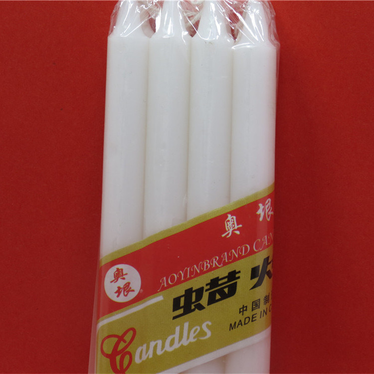 China Supplier Paraffin Wax Household White Mini Candles