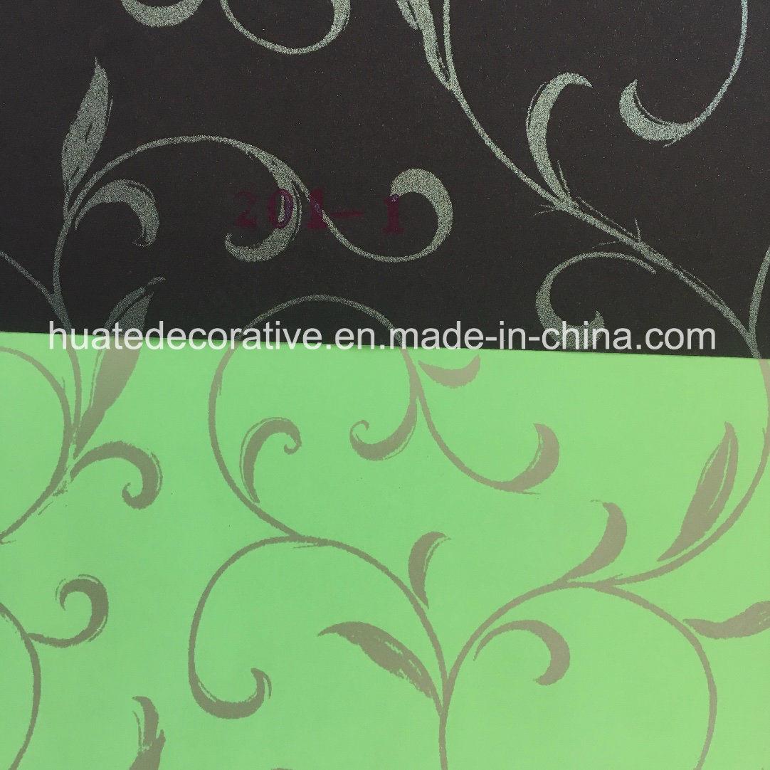 Metallic Design Printing Paper for Laminate, Classic European Vine Design