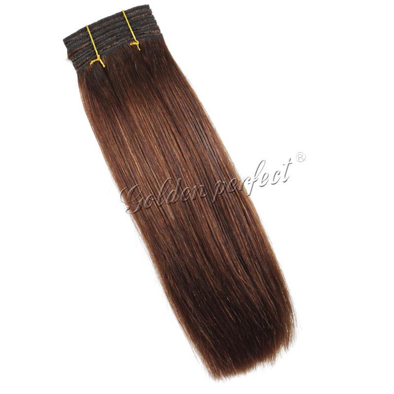 Human Made Hair Brazilian Virgin Weave Weaving Weft Curly 115