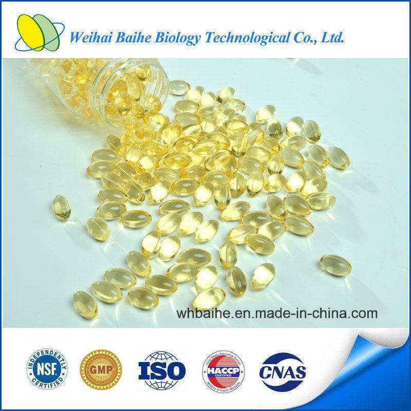 GMP Certified Natural Vitamin E (1000 IU) Softgel