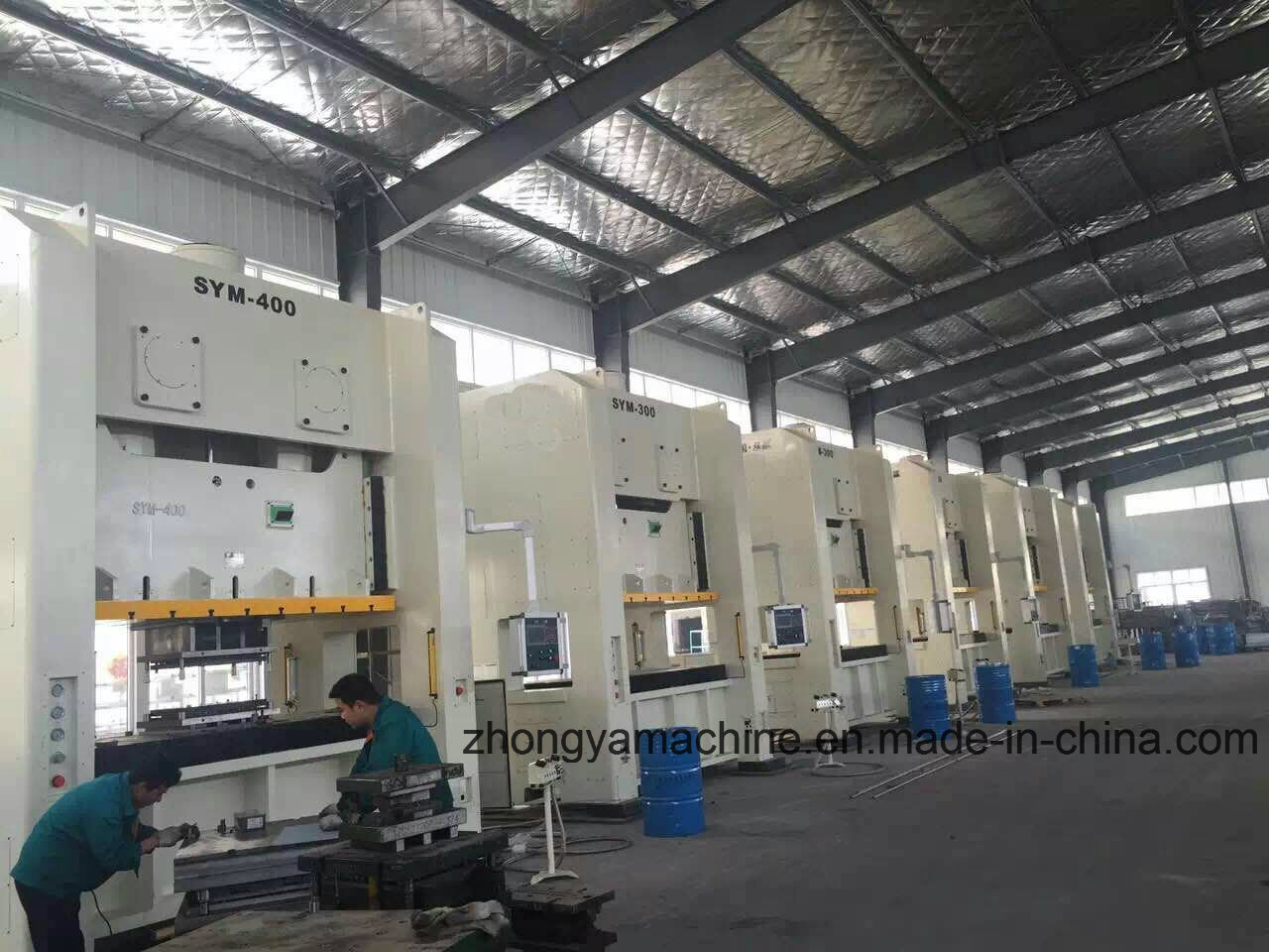 Closed Type Doble Point Power Press Machine Zym-500ton