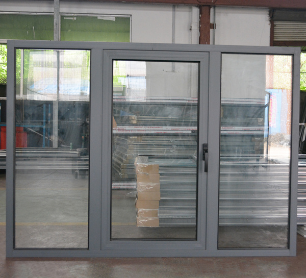 High Quality Aluminium Casement Window with Fix Pane K03003