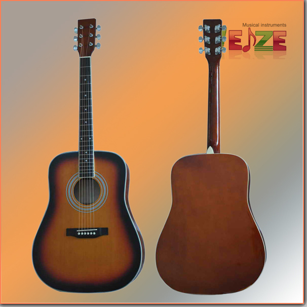 "41""Spruce Plywood Acoustic Guitar"
