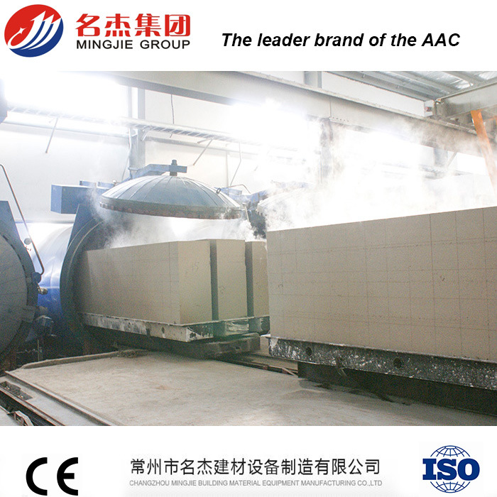 Concrete Block Manufacturing Equipment AAC Block Plant for Fly Ash Brick