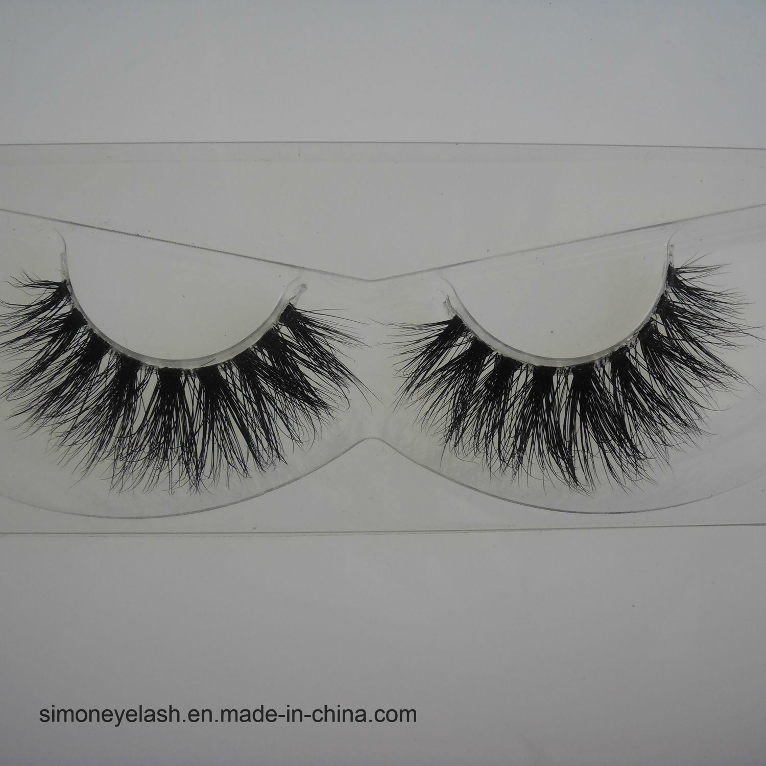 False Lashes Natural Mink Hair Fake Cosmetics 3D Eyelash