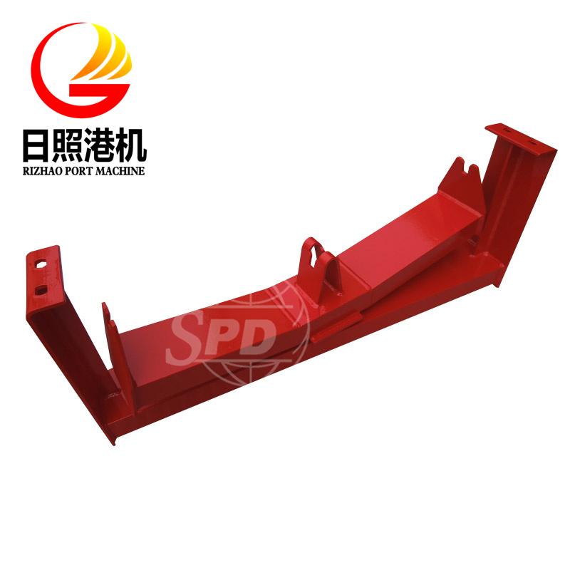 SPD Galvanized Conveyor Roller Frame for Belt Conveyor System