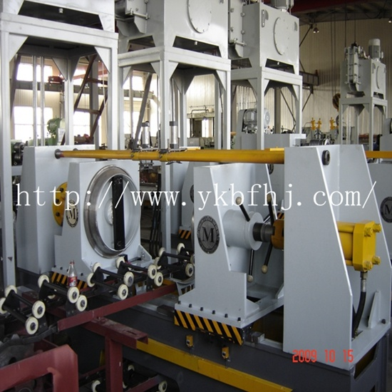 Steel Drum Making Machine Flanging Machine 8PCS/Min