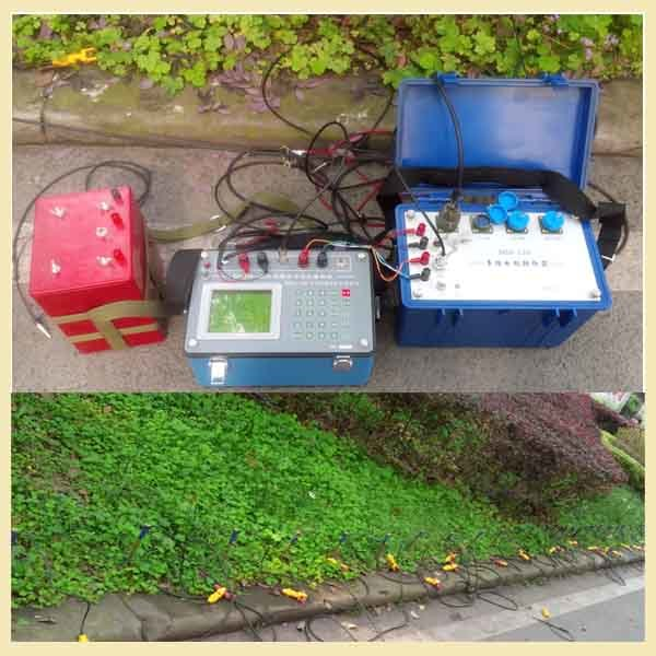 Geophysical Equipment for Groundwater Detection with Ves and Multielectrode System