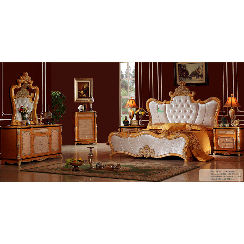 Classic Bedroom Furniture With Dressing Table Yf W839